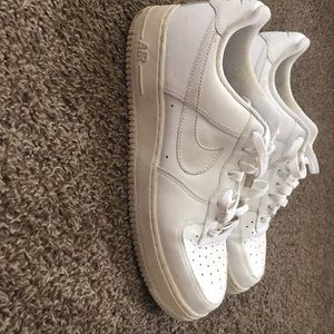 White Air Force Ones !